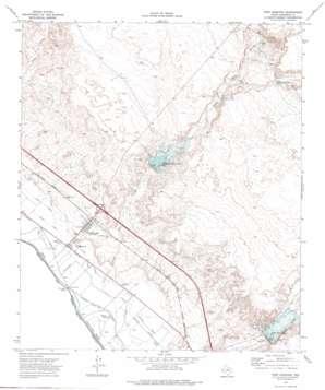 Fort Hancock topo map