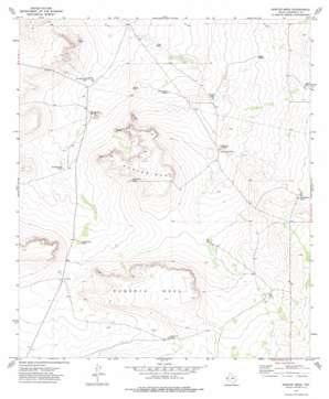 Norton Mesa topo map