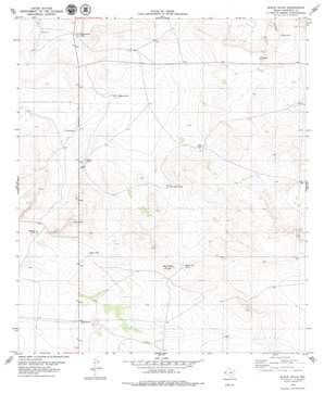 Black Hills topo map