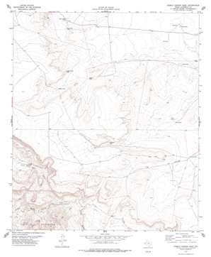 Diablo Canyon East topo map