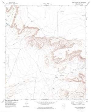 Diablo Canyon West topo map