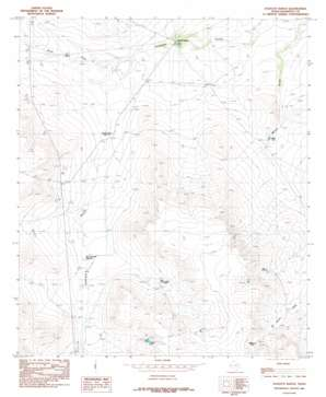 Scratch Ranch topo map