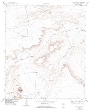 Granite Mountain topo map