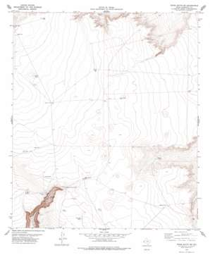 Tepee Butte Sw topo map