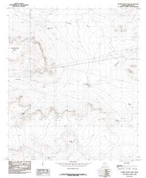 Adobe House Tank topo map