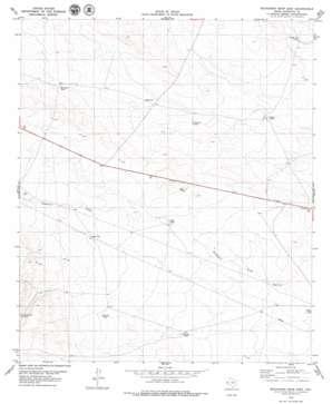 Buckhorn Draw East topo map