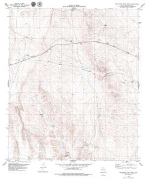 Buckhorn Draw West topo map