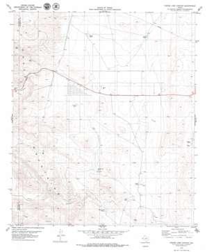 Phone Line Canyon topo map