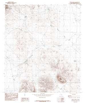 Cerro Diablo USGS topographic map 31105h4