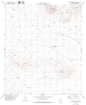 Sixteen Mountains topo map