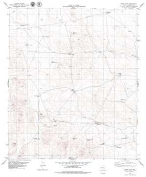 Hobo Tank USGS topographic map 31105h7