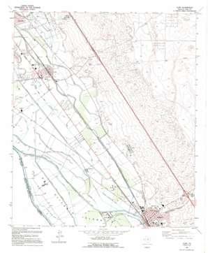 Clint USGS topographic map 31106e2