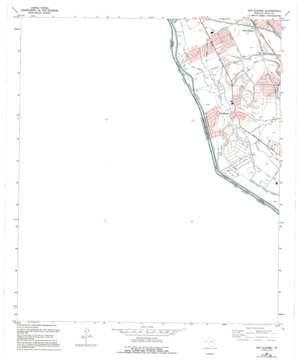 San Elizario topo map