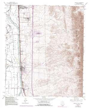 Canutillo topo map