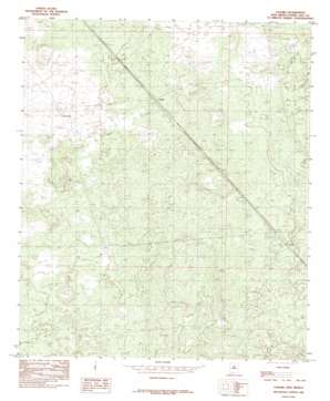 Lanark topo map