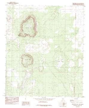 Kilbourne Hole topo map