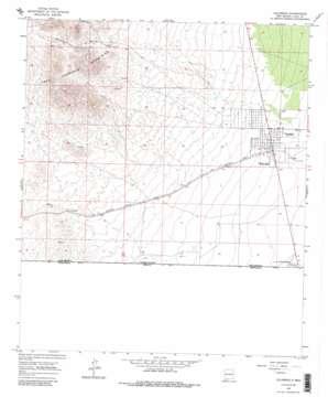 Columbus USGS topographic map 31107g6