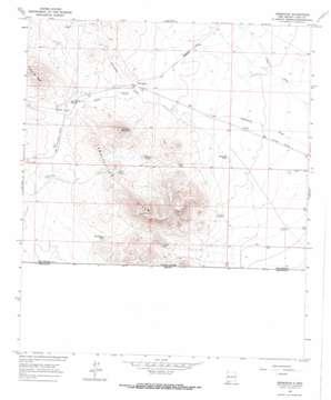 Hermanas USGS topographic map 31107g8