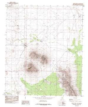 Mount Riley topo map
