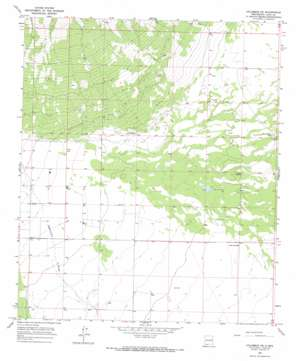 Columbus Ne topo map