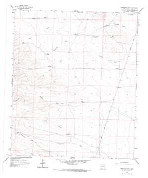 Hermanas Nw topo map