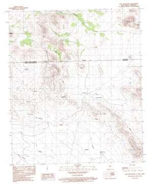 Dog Mountains topo map