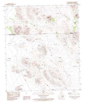 Eagle Mountain topo map