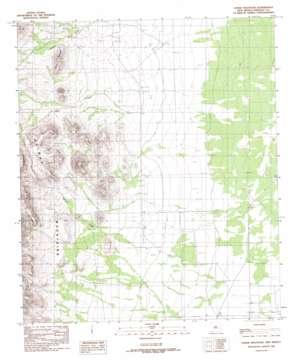 Horse Mountain USGS topographic map 31108e5