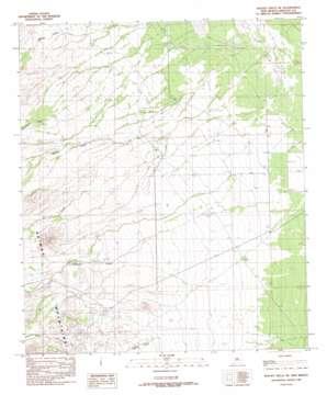 Walnut Wells Ne topo map