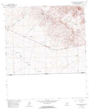 Victorio Ranch Se topo map