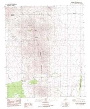 Hachita Peak topo map