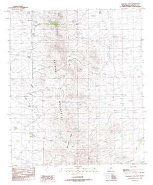 Whitmire Pass topo map