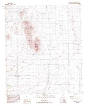 Tank Mountain topo map