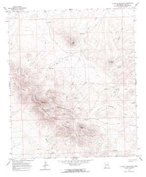 Flying W Mountain topo map