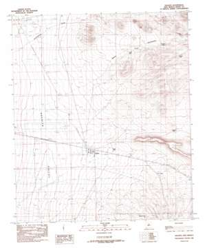 Hachita USGS topographic map 31108h3