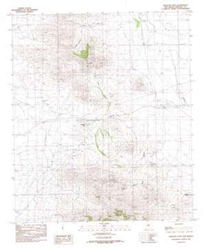 Antelope Pass USGS topographic map 31108h8