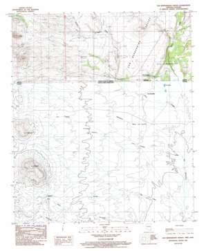 San Bernardino Ranch topo map
