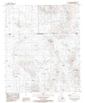 East Of Douglas topo map