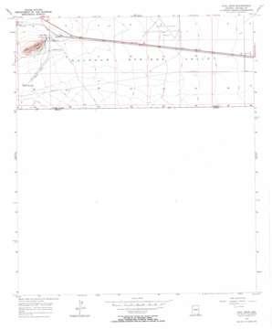 Paul Spur topo map