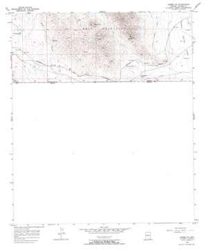 Bisbee Se topo map