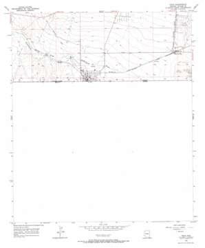 Naco topo map
