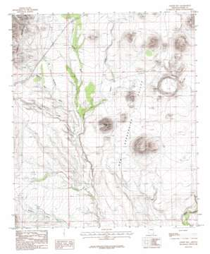 Cinder Hill USGS topographic map 31109d3