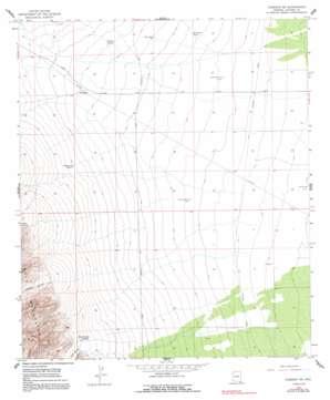 Gleeson Se topo map
