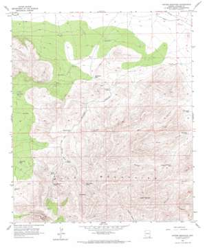 Potter Mountain USGS topographic map 31109e8