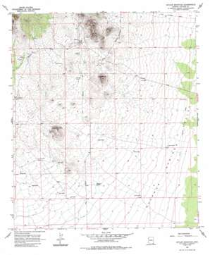 Outlaw Mountain USGS topographic map 31109f7