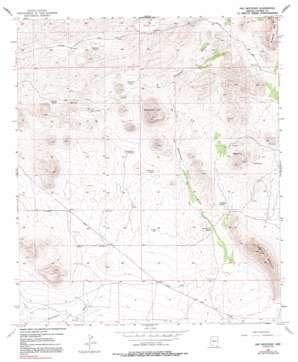 Hay Mountain topo map