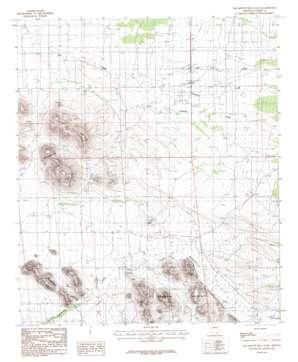 Squaretop Hills East topo map