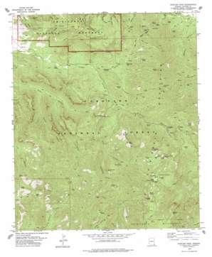 Rustler Park topo map