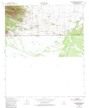 Bob Thompson Peak topo map