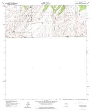 Campini Mesa USGS topographic map 31110c4